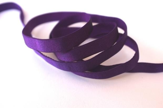 purple bra strap elastic