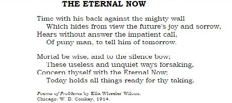 eternal now